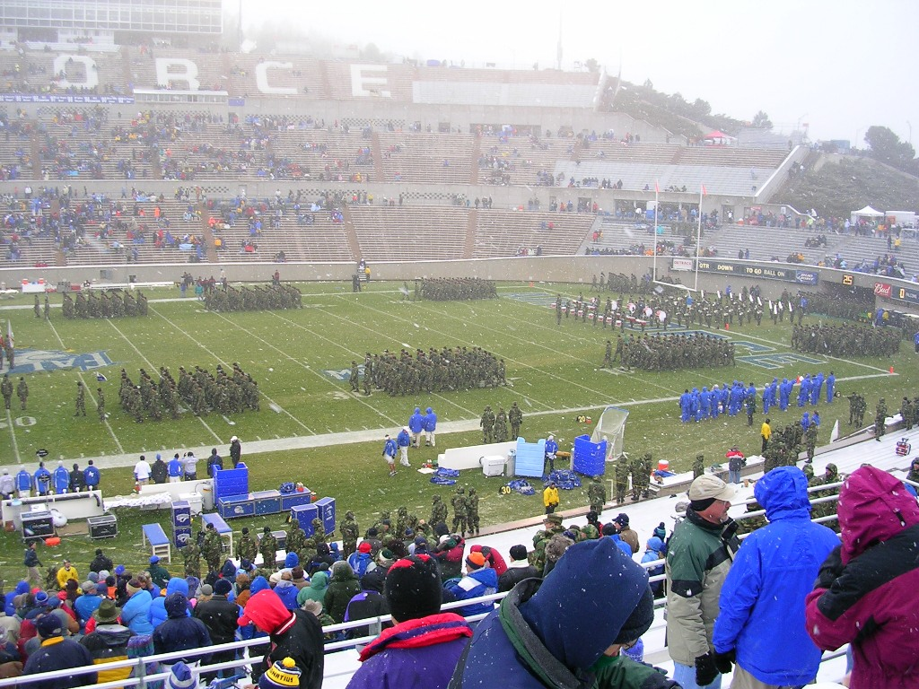 Air Force Game in the snow.JPG